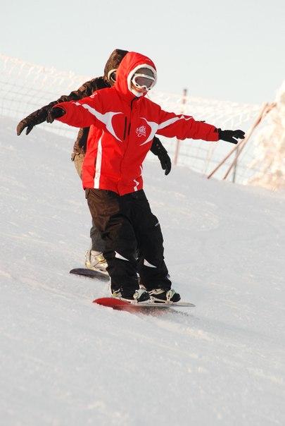 Где кататься на сноуборде в Томске